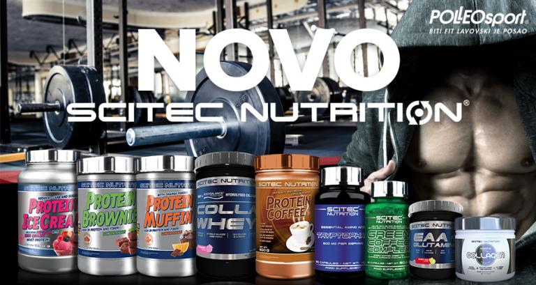 Zasladite se novim proizvodima iz Scitec Nutritiona