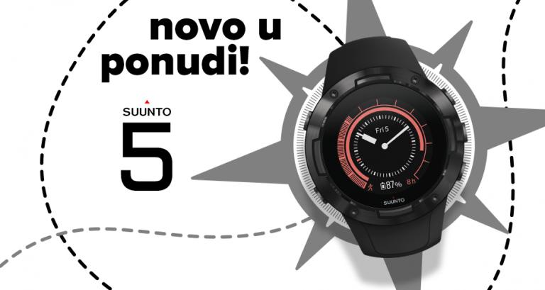 Suunto 5 – sve što vam je potrebno za novu fit avanturu
