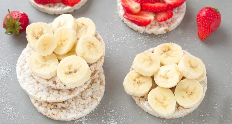Jednostavno, zdravo i hrskavo: rižini krekeri s voćem